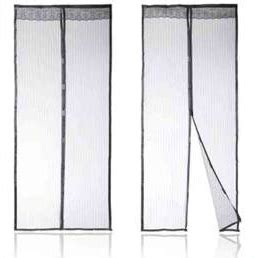magnetic mesh screen door deluxe set just 16 95