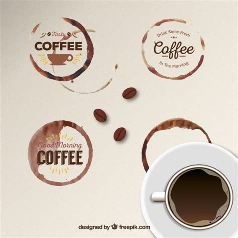 Http Www Freepik Free Vector Coffee Business Card Template 1105489 Htm by Coffee Stain Vectors Photos And Psd Files Free