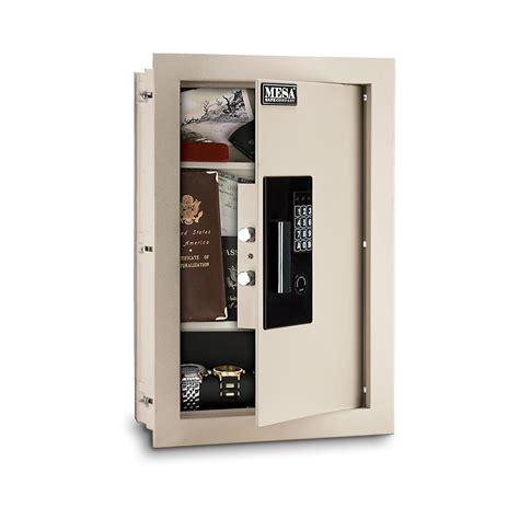 wall safe mesa safes maws2113e safe adjustable wall safe gsmaws2113
