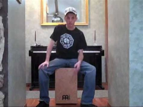 beatbox cajon tutorial the cajon box drum tutorial the basics demonstration
