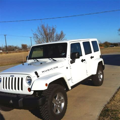 All White Jeep Wrangler Car Cars I