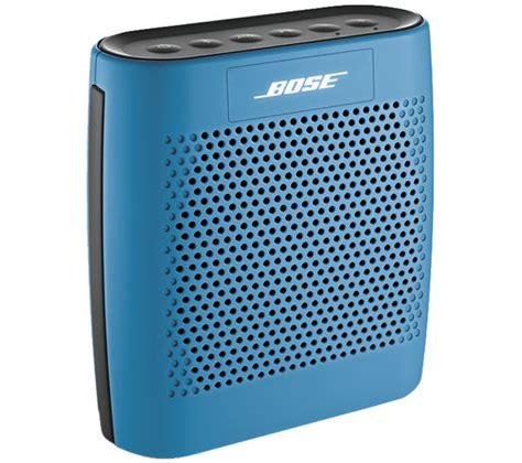 Bose Soundlink Speaker Blue bose soundlink colour portable wireless speaker blue deals pc world