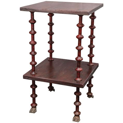 Spool Table For Sale 19th century pine spool table for sale at 1stdibs