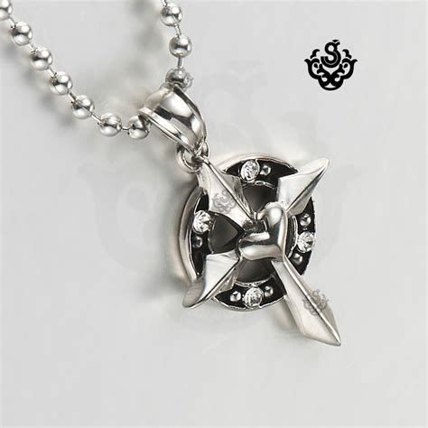 Murah Necklace Kalung Silver Cross silver cross clear stainless steel pendant necklace vintage ebay