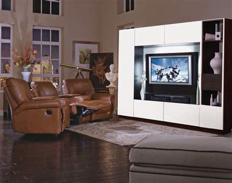 bruno entertainment wall unit modern furniture new