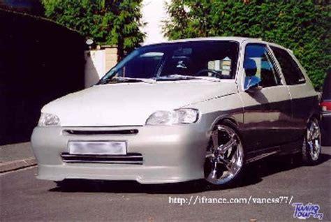 Voiture Avec Portes Latérales Coulissantes by Tuning Tour Renault Clio De 1997