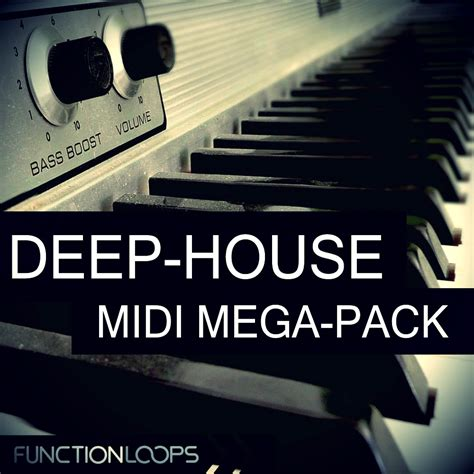 house music midi deep house midi megapack by function loops released