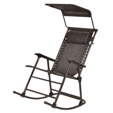 folding rocking chair with canopy outdoor home folding rocking chair rocker patio