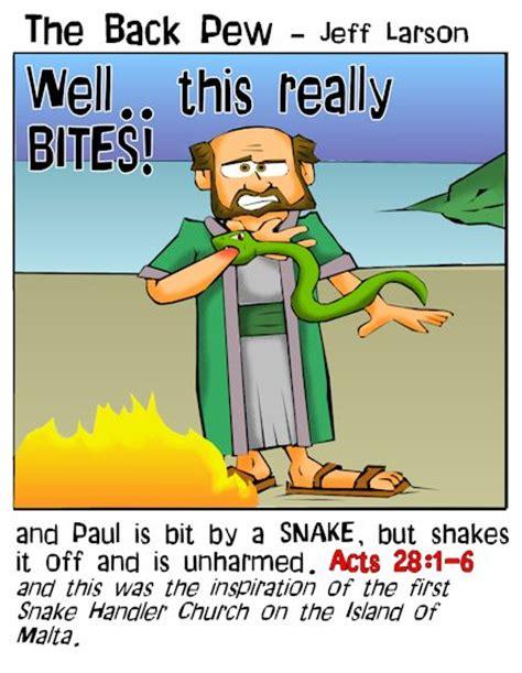 Paul Snake bit