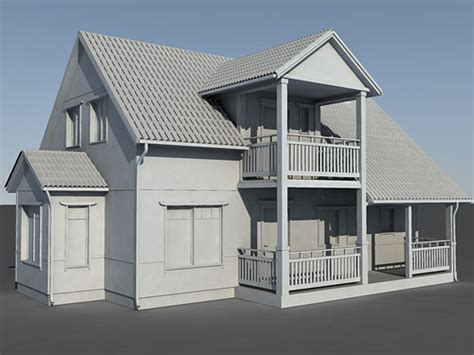 3d modeling house house 3d model free 3d models