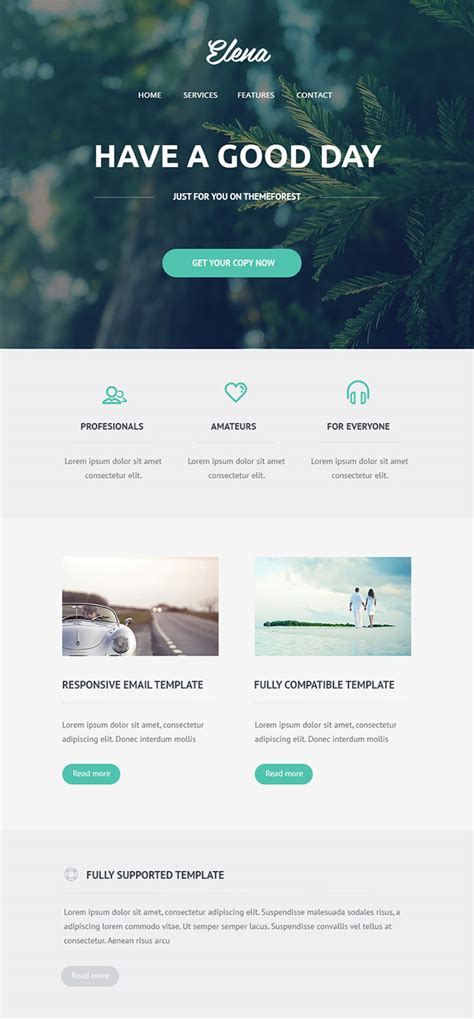 business newsletter templates   hongkiat