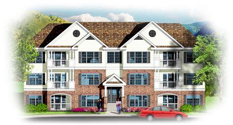 3 Story Building by 3 Story 12 Unit Apartment Building 83117dc
