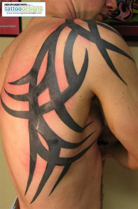 tattoos for men shoulder designs great tattoos