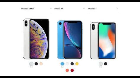 iphone xs max xr y x cual comprar