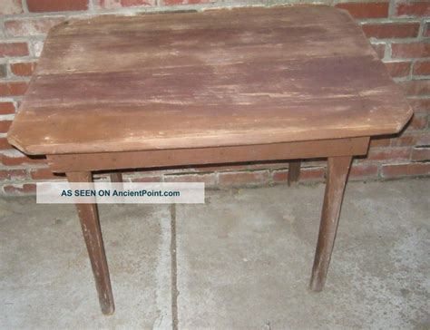 desk bernhardt wood plank table