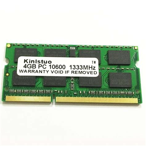 Memory Pc 4 Gb Ddr3 Apogee Pc 10600 buy ddr3 4gb 1333mhz 1333 pc3 10600s 4g memory laptop ram sodimm for amd for intel in