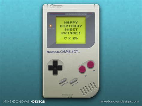 design game boy mike donovan design game boy turns 25