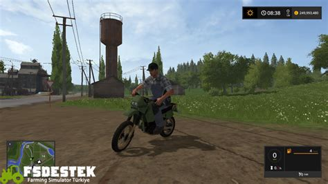 fs kawasaki kr motosiklet  fsdestek farming