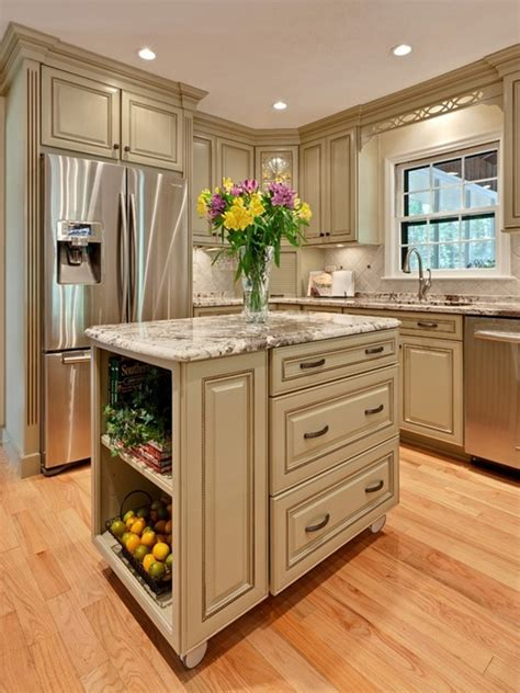Kitchen Designs For Small Kitchens With Islands 48 Amazing Space Saving Small Kitchen Island Designs