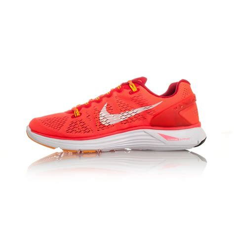 shop nike womens running shoes nike lunarglide 5 womens running shoes crimson white