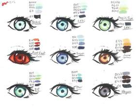 eye color names thor copics eye color chart by alebireo on deviantart