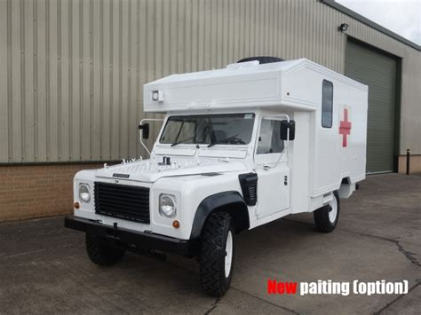land rover defender ambulance for sale image gallery landrover ambulances for sale