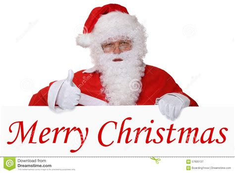 santa claus merry 8 merry card with santa claus showing thumbs up