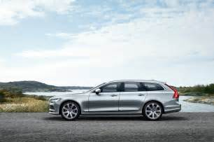 Volvo V90 2017 Volvo V90 Brings Luxury And Style To The Station