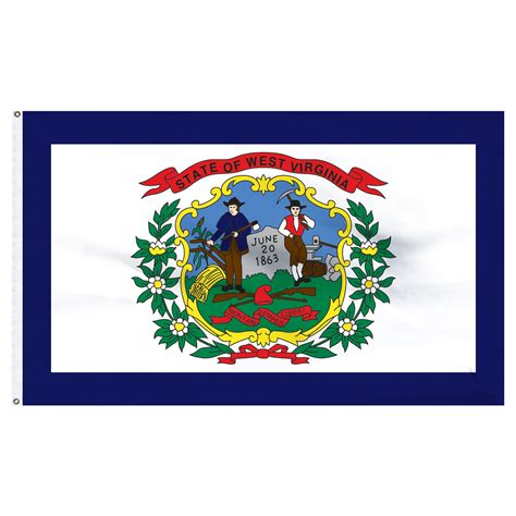 Free Catalog Request Home Decor by West Virginia 3ft X 5ft Nylon Flag With Pole Hem Only Banner