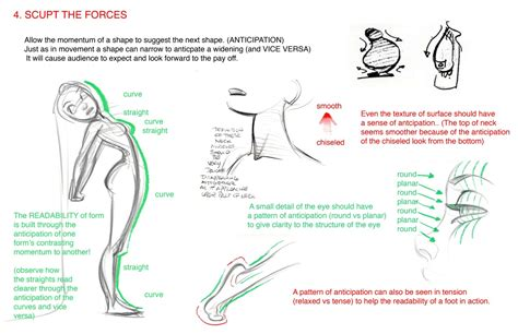 animation layout notes design notes by glen keane on animation