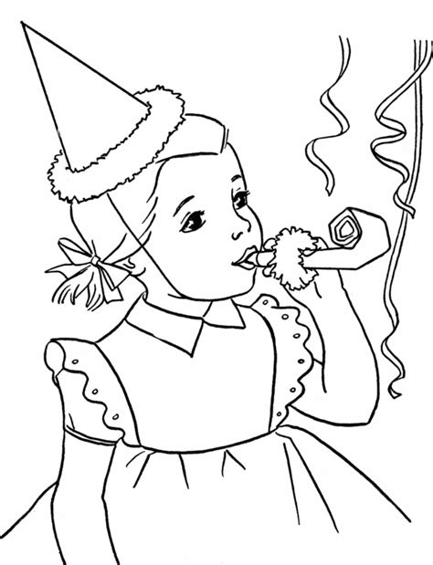 free coloring pages birthday party birthday party coloring pages coloring home