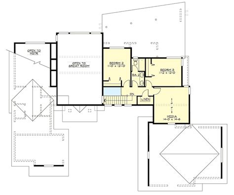 plan 86039bw master down modern house plan with outdoor master down living 23532jd architectural designs