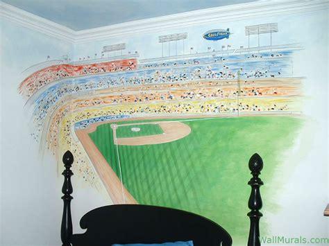 stadium wall mural sports wall murals exles of sports murals