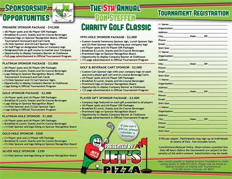 golf tournament brochure brochures eyeshot design