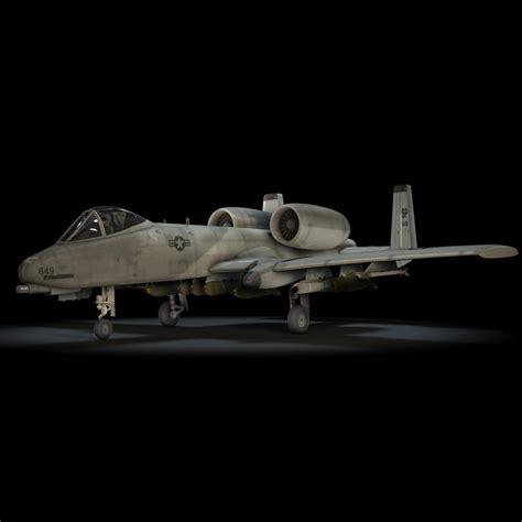 A 10 Thunderbolt Ii Model