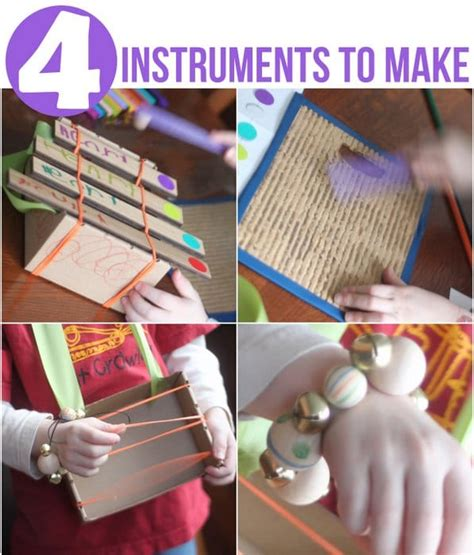 How To Make Handmade Musical Instruments - musical instruments for children