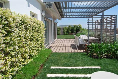 giardino su terrazzo prato sul terrazzo una soluzione pratica per gli amanti