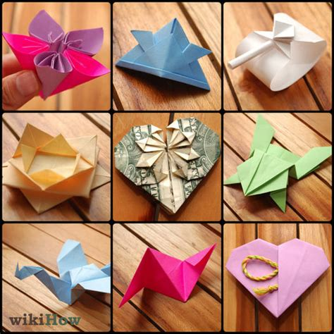 how to make craft out of paper 7 ways to make origami wikihow