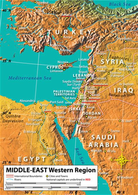 middle east map features physical features of the middle east image search results