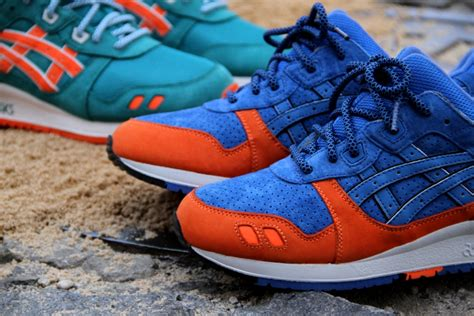 Asics Gel Lyte Iii Ronnie Fieg Ecp Miami ronnie fieg ecp east coast project asics