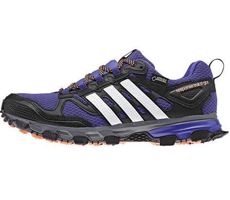 Adidas Sport Wanita 21 adidas response trail 21 tex s running shoes blue black buy it at the