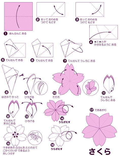 tutorial membuat bunga sakura dari kain flanel 493px