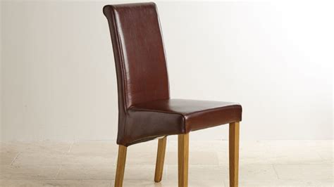 Leather Oak Dining Room Chairs Leather Dining Chairs Dining Room