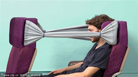 airplane comfort products a plane crazy idea for privacy 1 chinadaily com cn