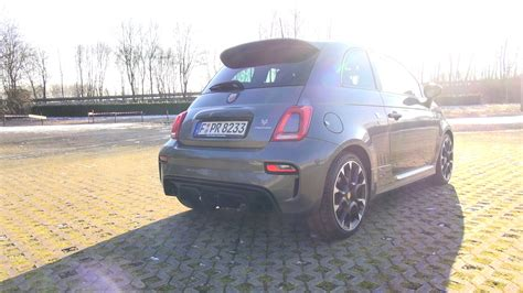170 Kph In Mph by 2017 Abarth 595 Competizione Exhaust Sound Acceleration