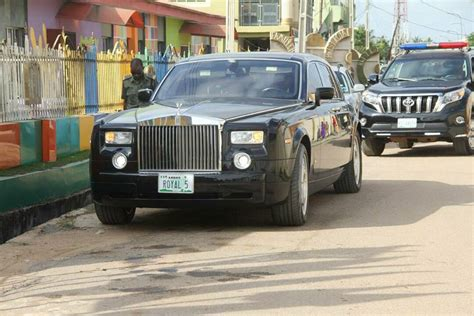 roll royce nigeria bishop tom samson and his customized roll royce out