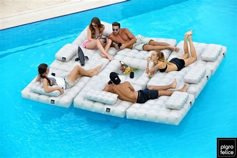 luchtbed water lidl modul air pool float and deck furniture