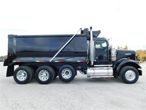 used kenworth w900 dump trucks sale kenworth w900 dump truck caterpillar c15 acert 475 hp
