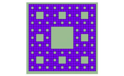 alfombra de sierpinski la alfombra de sierpinski ciencia el pa 205 s