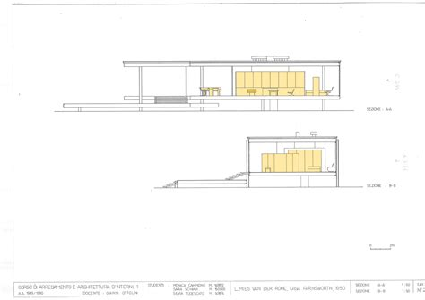 mies van der rohe farnsworth house plan farnsworth house illinois floor plan